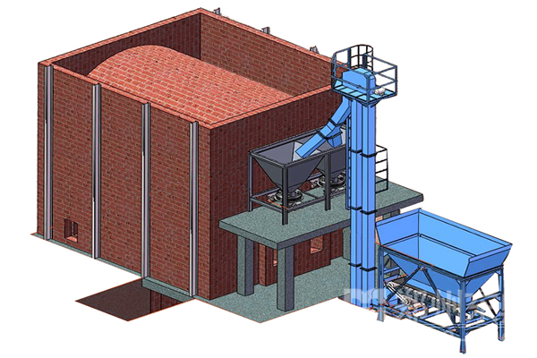 Fluidized bed furnace