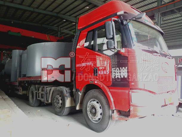 山西煤泥烘干机项目改造发货