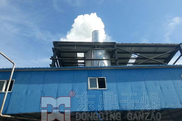 低温余热尾气煤泥烘干机技术