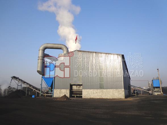 煤泥烘干机干法除尘